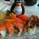 Penguines can't use chopsticks!