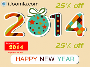 Get 25% off for the new year!