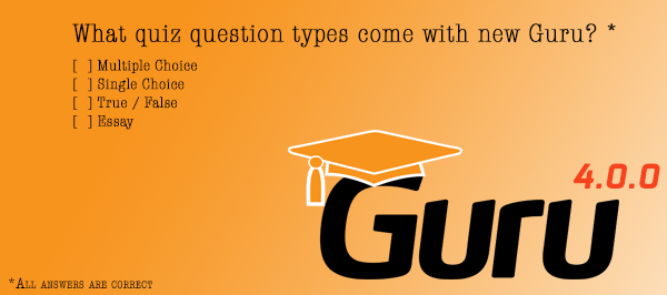 New Guru Quizzes