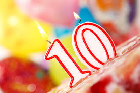 Joomla 10 Birthday