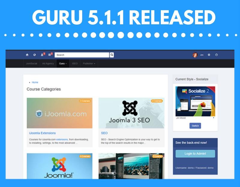 guru 5.1.1 update released