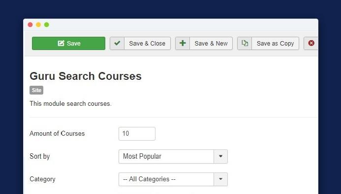 guru 5.1.13 update for course module