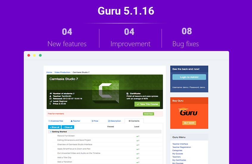 Joomla-lms-extension-Guru-5.1.16-updated