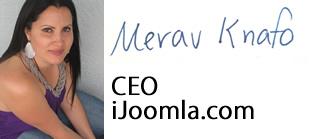 Merav Knafo, iJoomla CEO