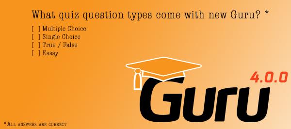 New Guru Quizzes