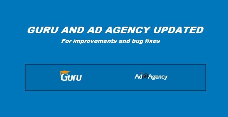 Guru and Ad agency updated